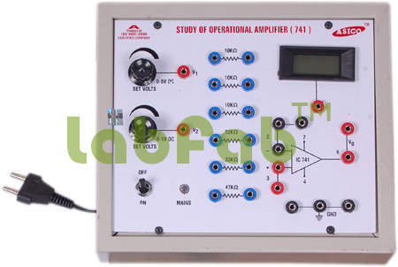 Study of differentiator and integrator amplifier